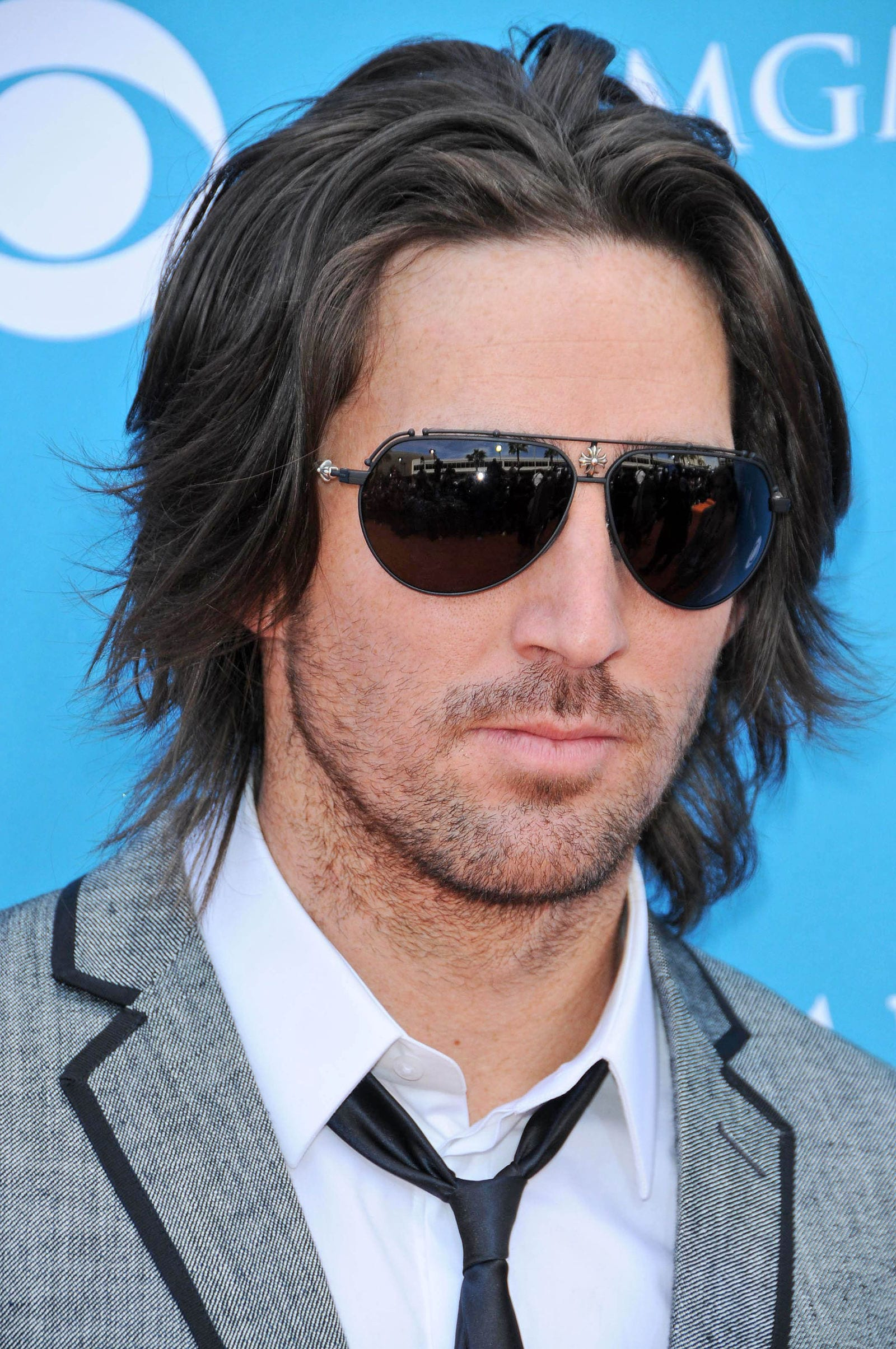 Jake Owen long hair flow glasses by s_bukley