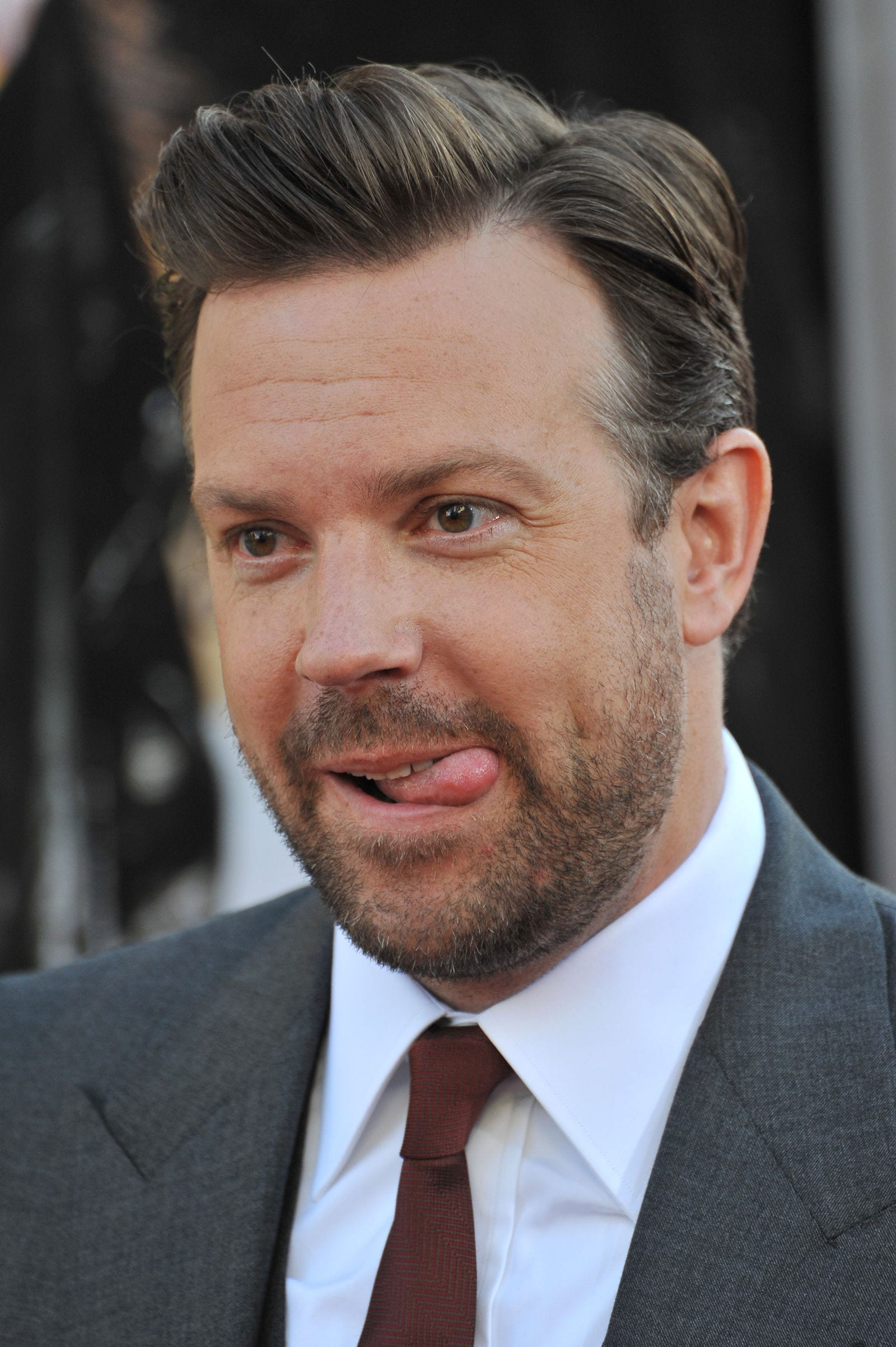 Jason Sudeikis side part by Featureflash Photo Agency