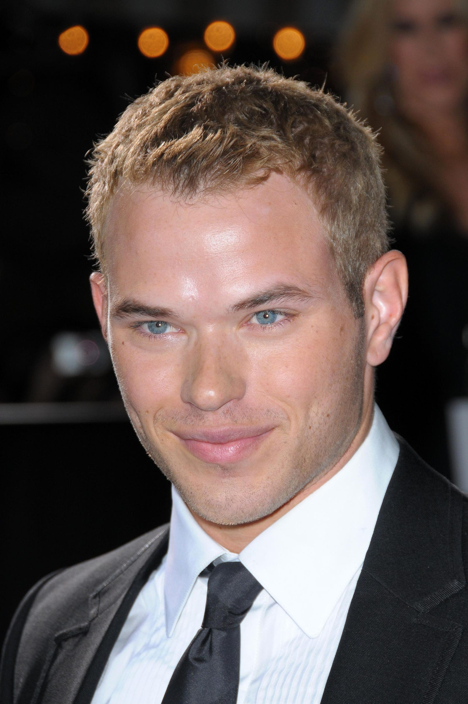 Kellan Lutz short choppy textured crew cut by s_bukley