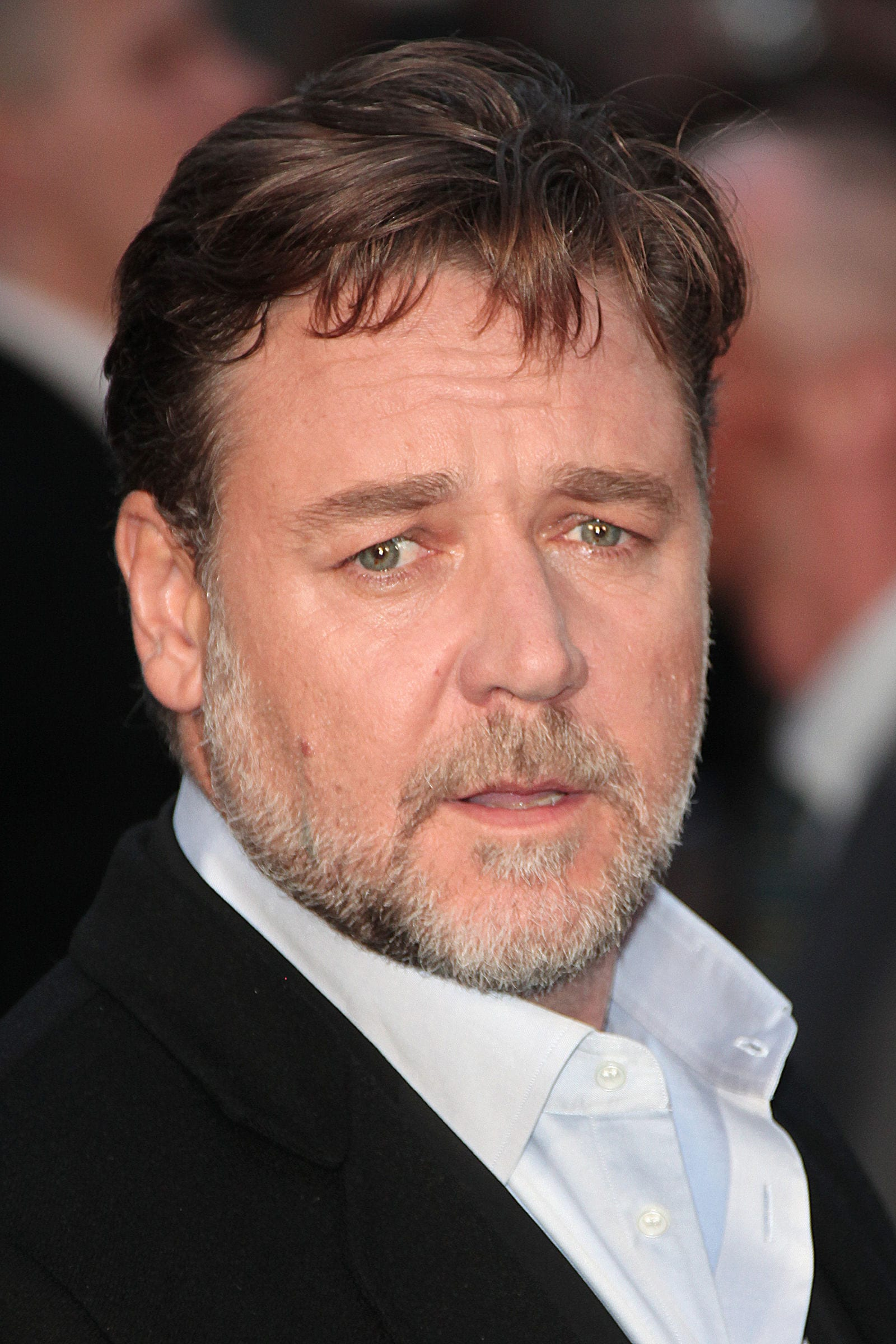 Russell Crowe fringe by BAKOUNINE