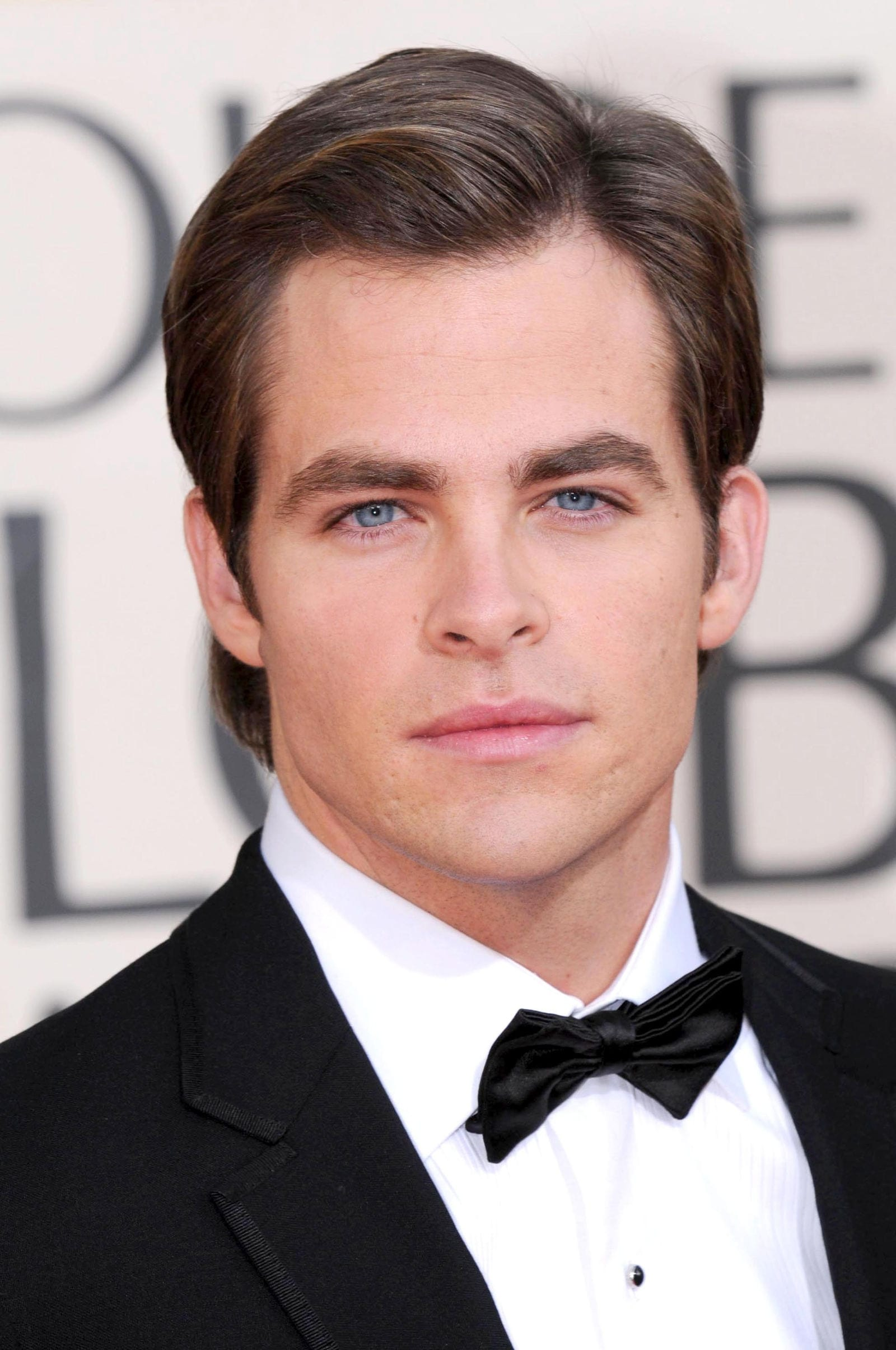 Chris Pine classic gentleman comb over side part by s_bukley