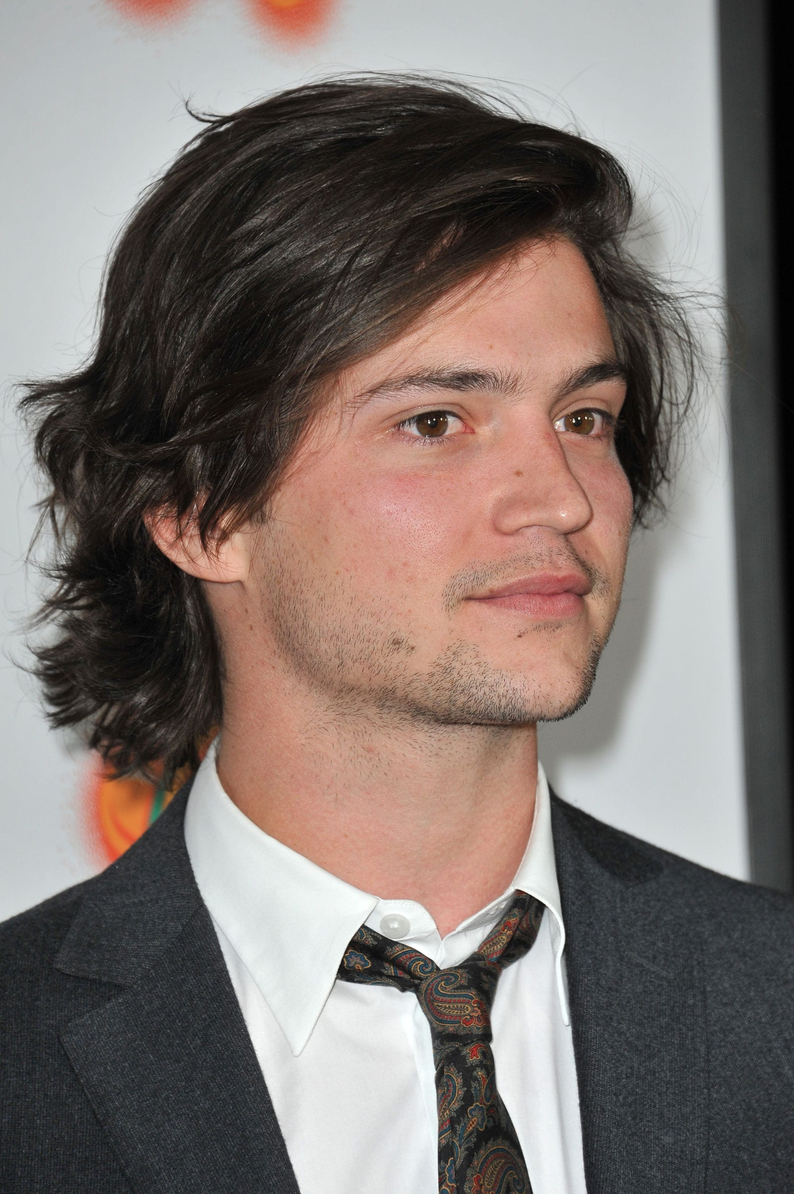 Thomas McDonell long hair surfer flow bro by Jaguar PS